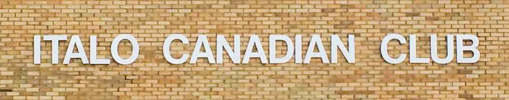 Fort Erie Italo Canadian Club News